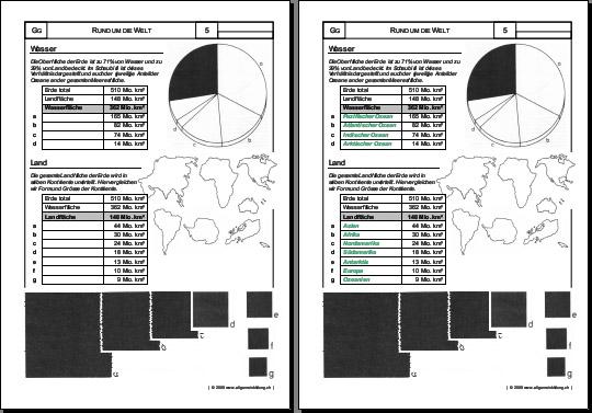 geografie welt wasser land 8500 bungen arbeitsbl tter r tsel quiz tests puzzles. Black Bedroom Furniture Sets. Home Design Ideas