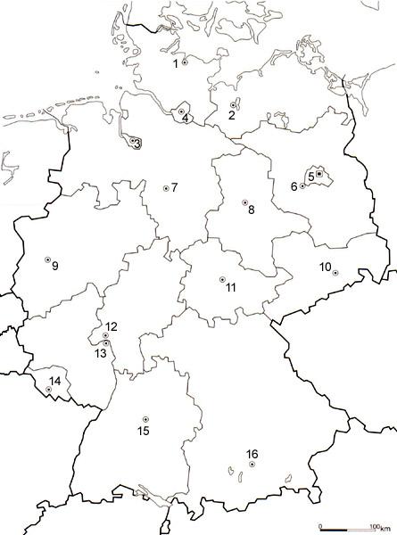 Bundeslander Deutschlands 05a Geografie Lernen Mit Gratis