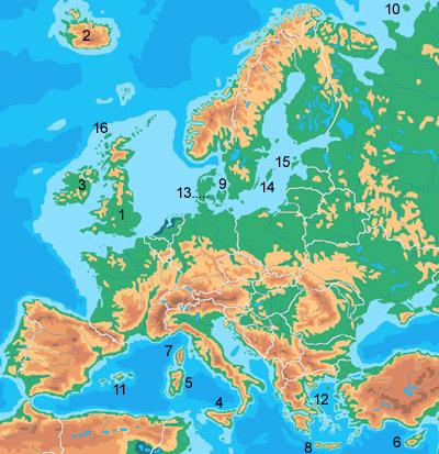 europa topographie