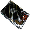 the hard disk | le disque dur